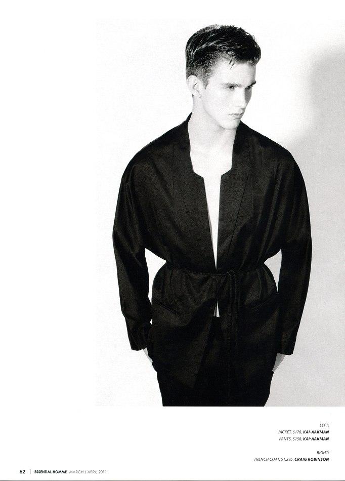 RJ King / Essential Homme / Shannon Sinclair