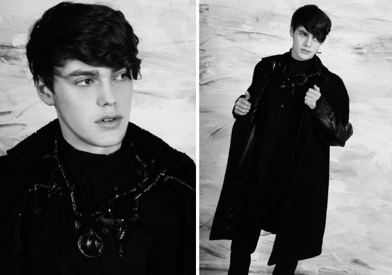 Jacob Young in Here Come the Boys Part I by Damon Baker for The Fashionisto