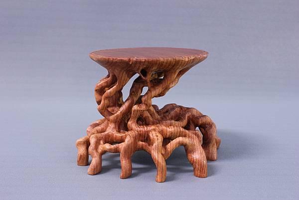 (拙趣坊) 大果紫檀根雕桌