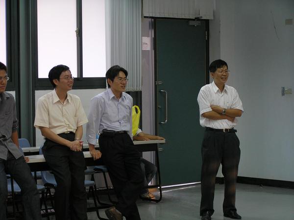 系上最初的三位教授