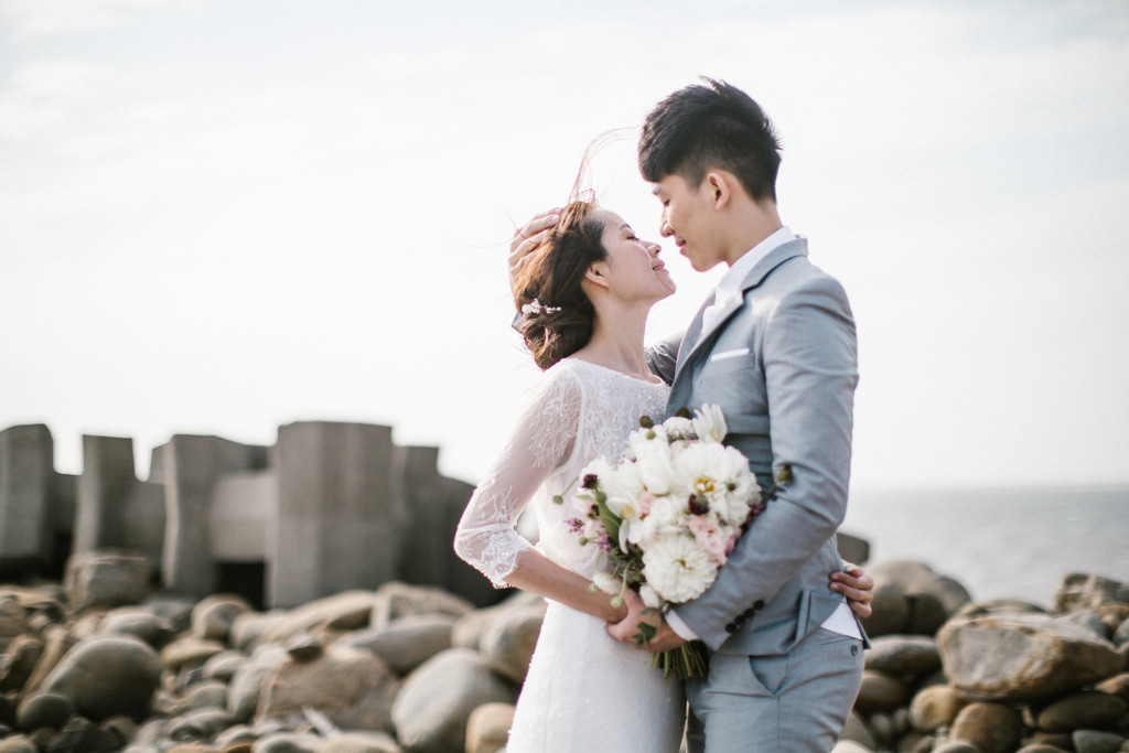 Brian & Esther / 彰濱 / 自助婚紗 / 美式婚紗