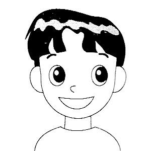 俐落的小男生中短髮