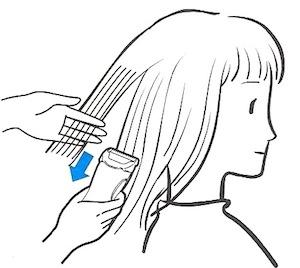 女孩理髮教學