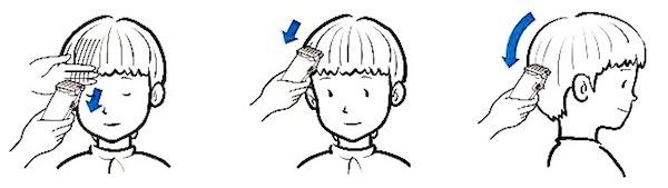 兒童理髮-剪掉過長頭髮