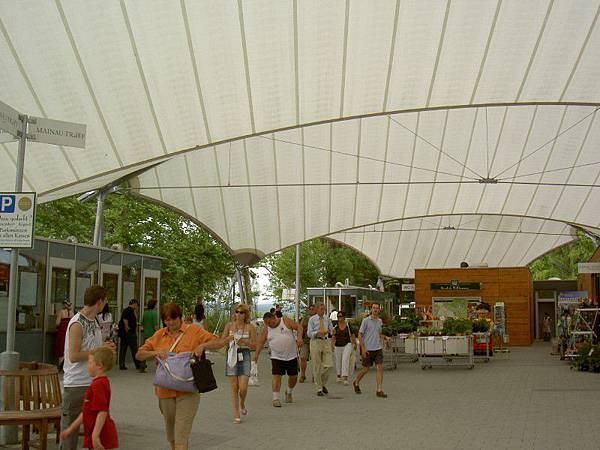 邁瑙島入口門票處