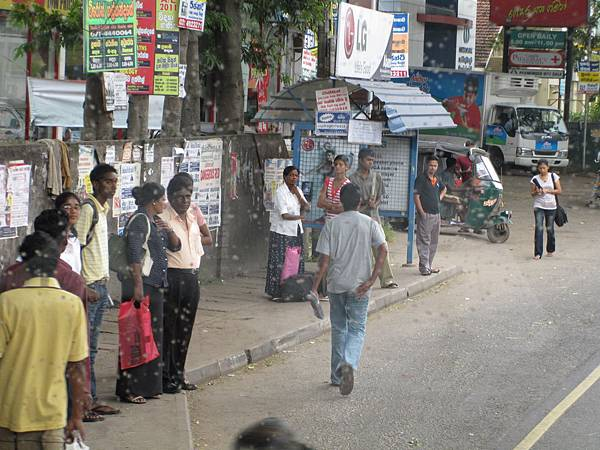斯里蘭卡首都-可倫坡的街頭