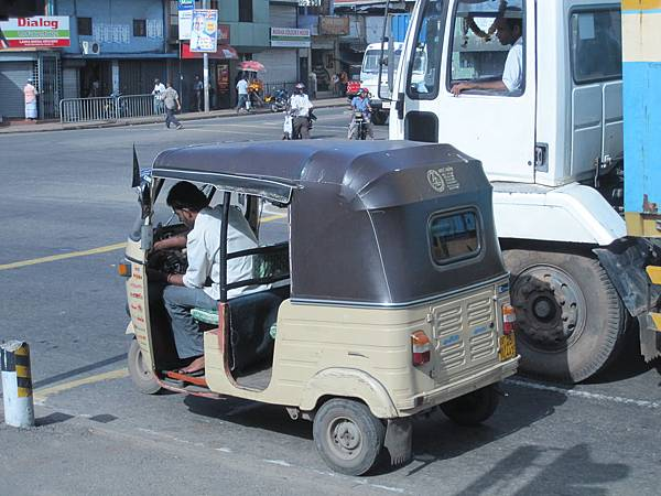 斯里蘭卡的計程車