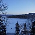 阿寒湖的日出
