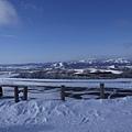 結冰的北海道
