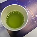 迎賓飲料的綠茶
