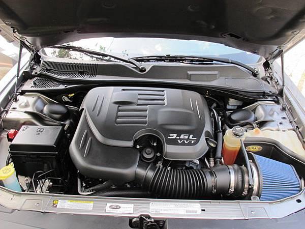 道奇挑戰者引擎Dodge Challenger Engine Hood