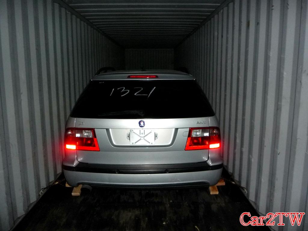 Saab 95 wagon 留學生楊先生從加拿大運車回台灣