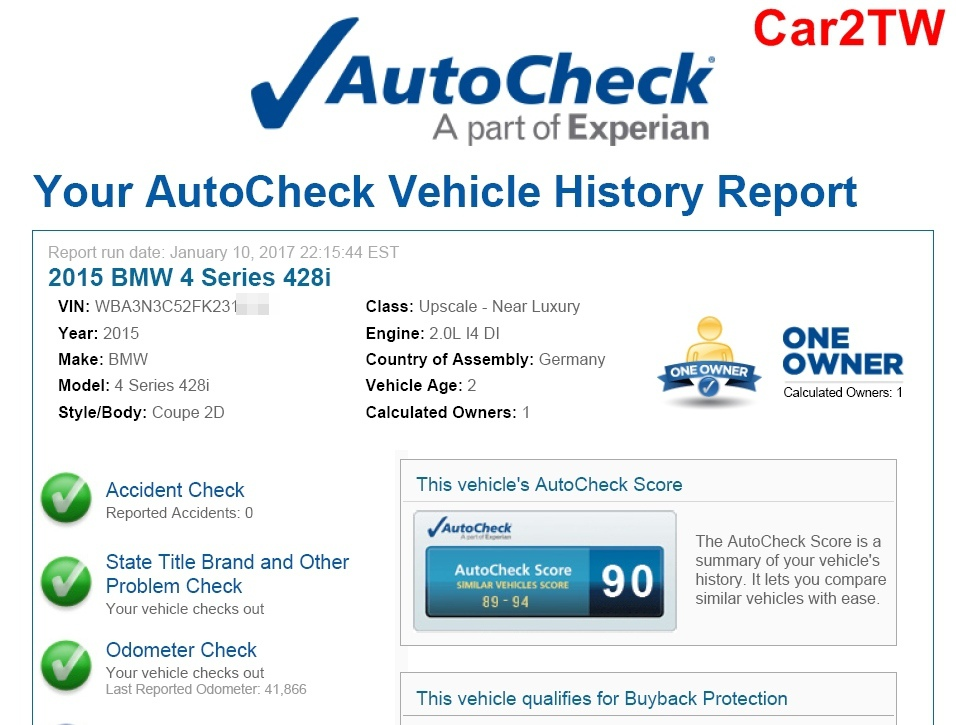 2015_BMW_428i_autocheck