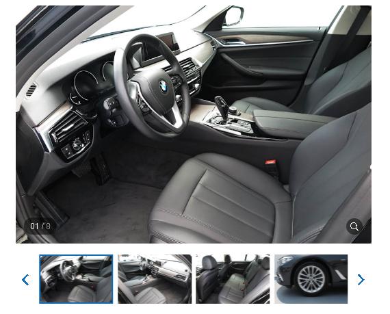 BMW 520d 2017內外裝配備: 方向盤控制鈕、 電動座椅 、 免鑰匙啟閉系統 、 皮椅 、 恆溫空調 、 HID 、 影音系統 。  安全配備 : 日行燈 、 ABS 、 安全氣囊(6具) 、 胎壓偵測 、 倒車影像 、 定速 、 車道偏移系統 。