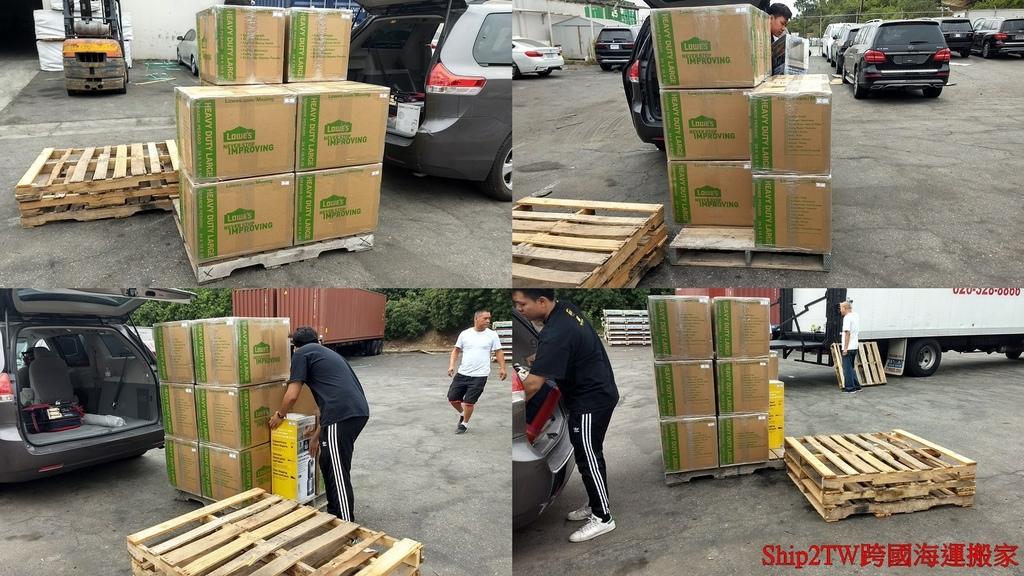 這是Ship2TW協助位於美國聖地牙哥張小姐在2020年10月時跨國海運搬家回台灣新竹的照片,張小姐有十幾個大箱子,還有幾個不規則形狀個人物品吸塵器電視等等,Ship2TW跨國搬家公司直接到府打包裝箱運送到位於美國洛杉磯長堤市海運出口倉庫裝進貨櫃中寄送回台灣,海運搬家費用比起空運節省非常多錢,跨國海運一個箱子平均大約20-40元美金,而且不限重量大小形狀,比起空運一個箱子大約要150-300元美金,海運行理費用幾乎只有1/10,想知道如何從美國聖地牙哥跨國海運搬家回台灣新竹嗎?為什麼大家推薦Ship2TW跨國搬家公司嗎?歡迎連絡比較費用及服務品質。