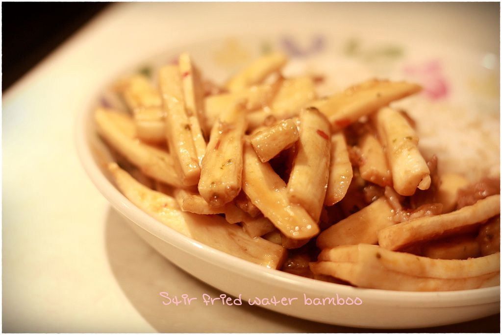 stir fried water bamboo 1