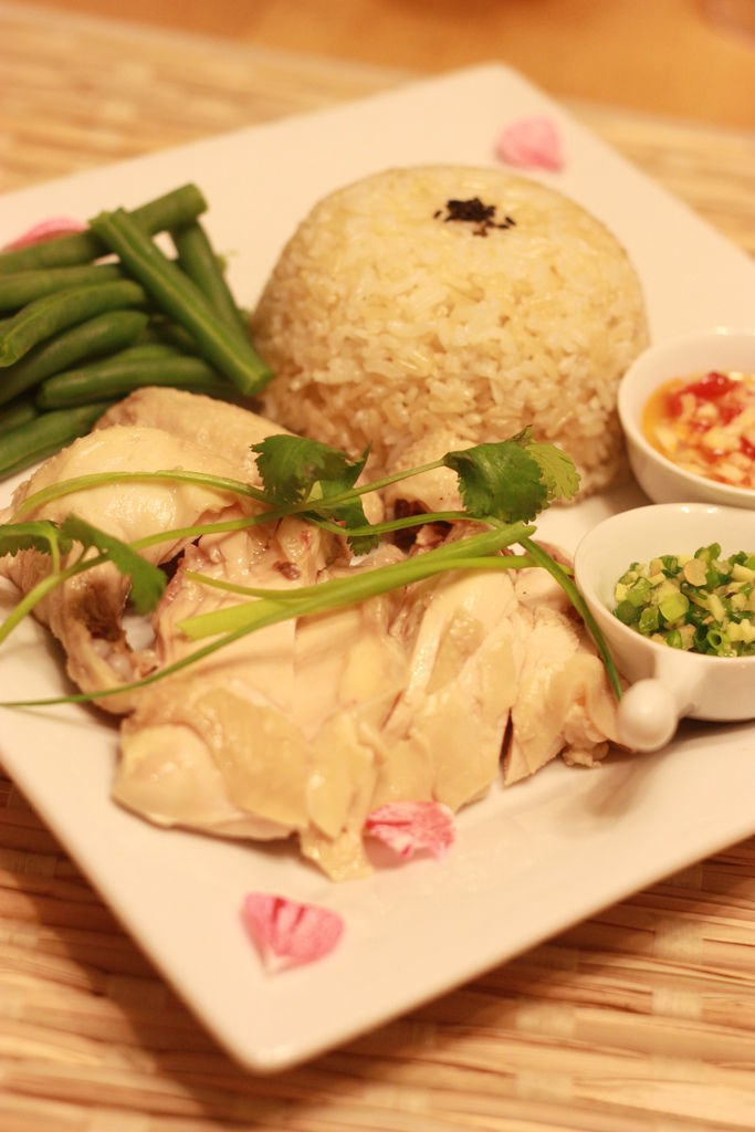 Hainanese Chicken Rice  5
