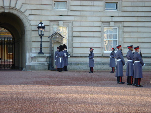 Changing of the guard, 12/26