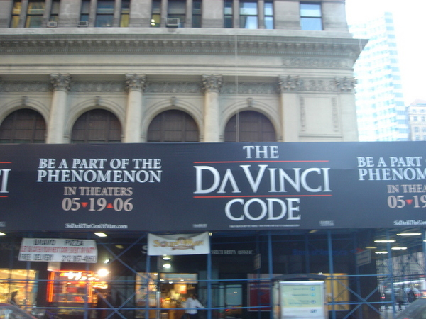 0409 ad for the da vinci code