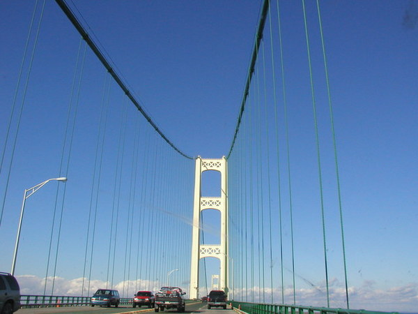 Mackinac Bridge, 6/22,2003