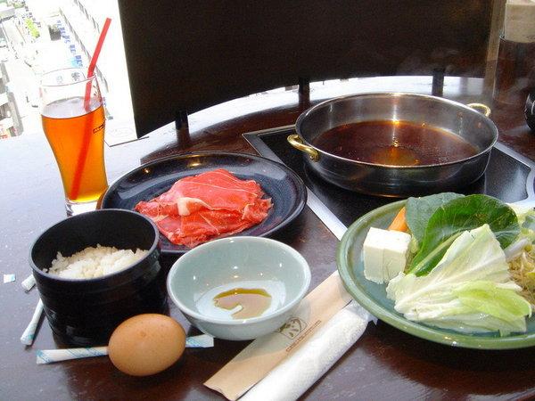 Sukiyaki in Shinjiku
