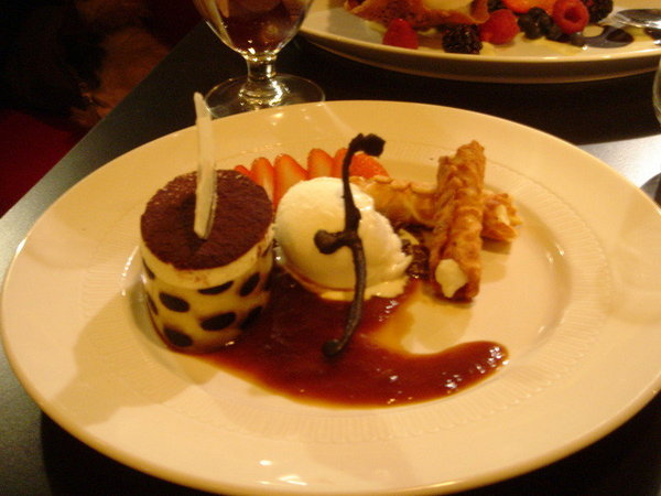 dessert in Finale, 11/26