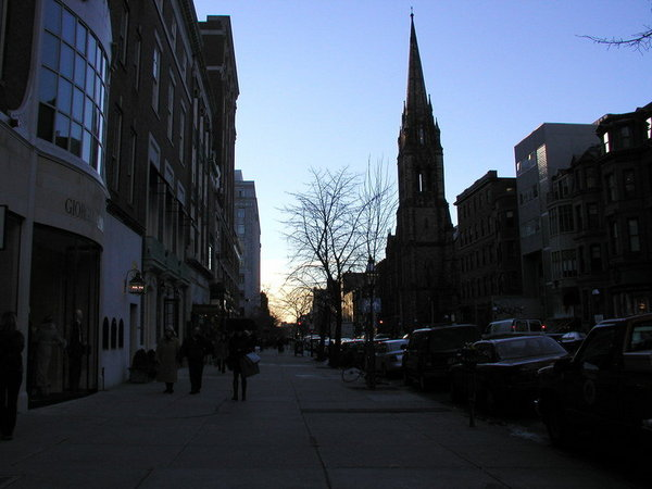 Newbury street ,12/2003