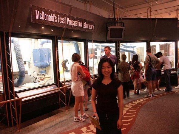 McDonald's Fossil Preparatio