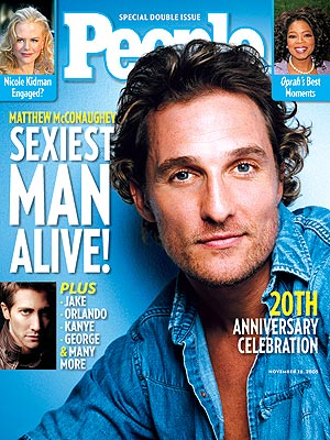 2005Matthew McConaughey