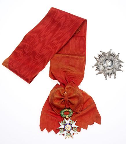 老蔣的榮譽軍團大綬勳位級勳章