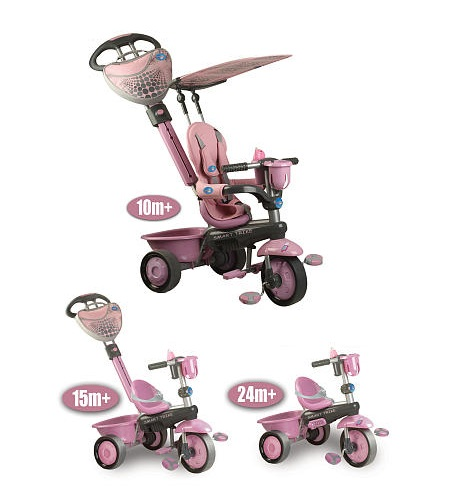 Smart Trike 3-in-1 Tricycle - Zoo Galah