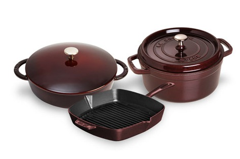Staub 5-piece Starter Cookware Sets
