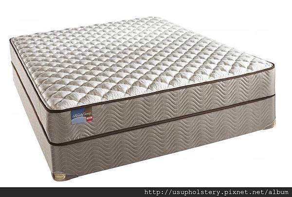 01-Simmons BeautySleep Mazatlan Firm Mattress Set (QUEEN USD 464, 另有其他尺寸)