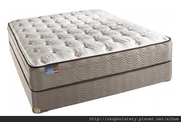 03-Simmons Beautysleep Mazatlan Plush Euro Top Mattress Set (QUEEN USD 464, 另有其他尺寸)