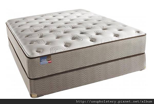 05-Simmons Beautysleep Malecon Plush Mattress Set (QUEEN USD 622, 另有其他尺寸)