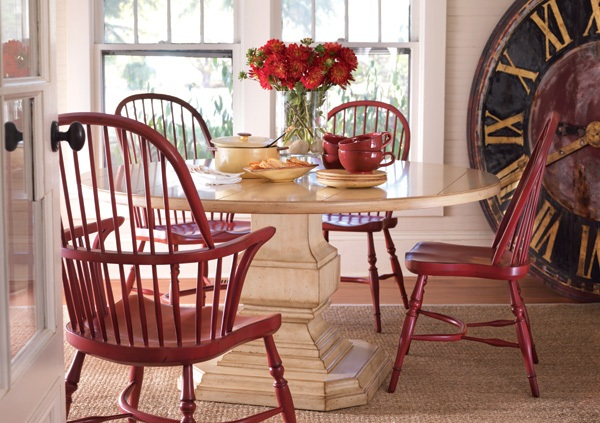 DAILY PICK (2013/1/16) - Somerset Bay Killington Dining Table & Palmetto Windsor Chairs
