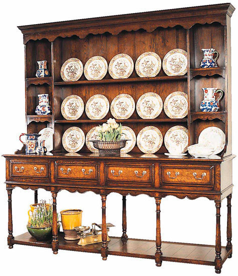 DAILY PICK (2013/1/29) - Fauld Oxford potboard dresser and rack (HD395)