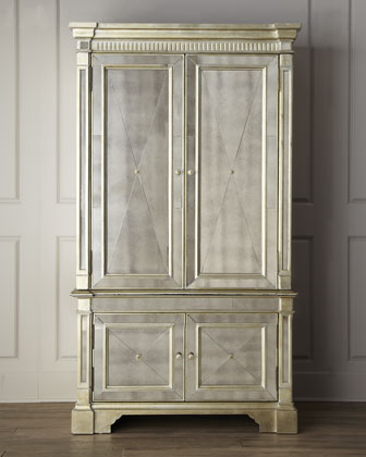 DAILY PICK (2013/1/30) - Bassett Mirror Borghese Media Cabinet (8311-567)