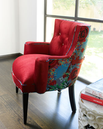 DAILY PICK (2013/3/14) - Haute House Tiffany Chair (Lipstick Rose, 05-TiffanyBodice-01)