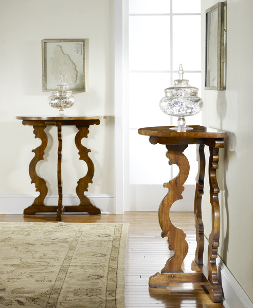 DAILY PICK (2013/3/21) - Modern History Tuscan Half Round Console (MH237F01)