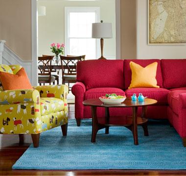DAILY PICK (2013/3/31) - CR Laine Portside Sofa (7670) & Chilton Chair (7825)