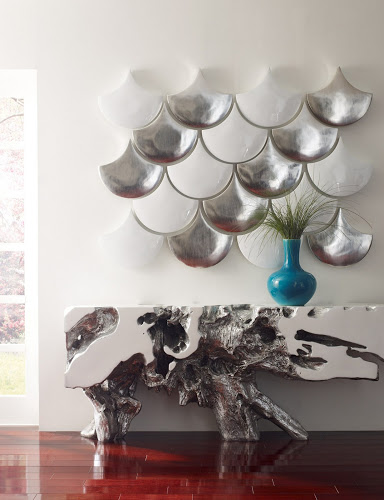 DAILY PICK (2013/4/1) - Philips Collection Teardrop Wall Deco Set of 3 Silverleaf (PH63665)