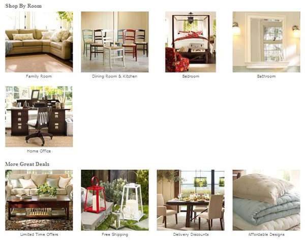 Pottery Barn Summer Sale (2010/07)