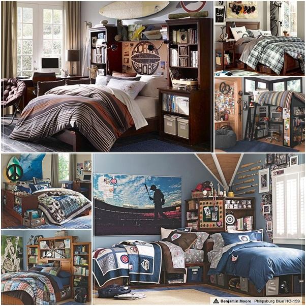 PB Teen Guys Room