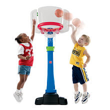 STEP2 Double Play Basketball and Football Set