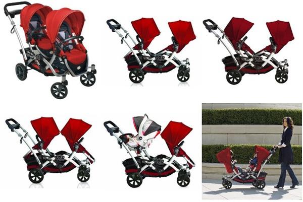 Kolcraft Contours Options Tandem Stroller