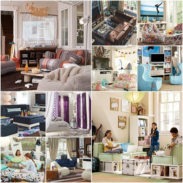 PB Teen Lounge Room