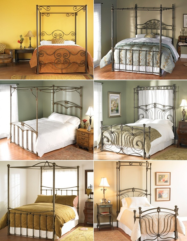 Wesley Allen Iron Canopy Beds