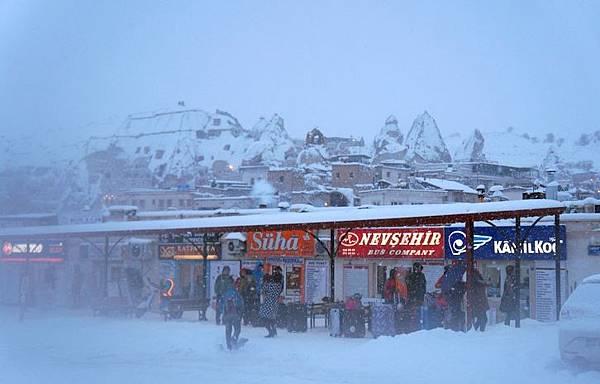 Goreme-Winter