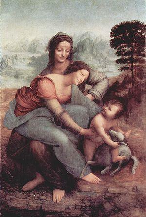 達文西畫作-聖母子和聖安妮.jpg